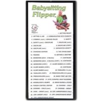 Babysitting Flip Chart, First Aid Guide, Sunset Survival Emergency Kits