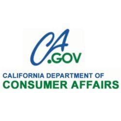 CA Department of Consumer Affairs Logo
