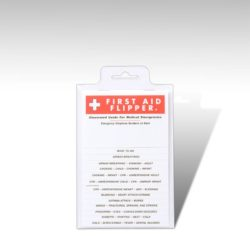 Tabbed First Aid Flip Charts, Pocket First Aid Guide, School Safety, Sunset Survival Kits