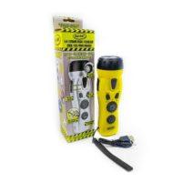 4 in 1 Dynamo Crank Radio Flashlight Cell Charger Emergency Siren