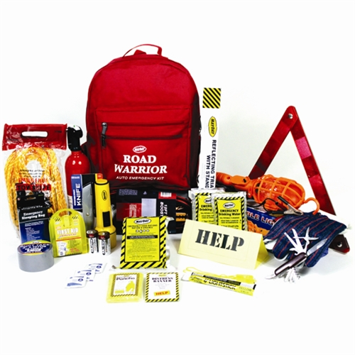MAA02 Mountain Road Warrior Emergency Backpack Kit from Sunset Survival and First Aid Kits, Safety Supplies, Disaster Preparedness