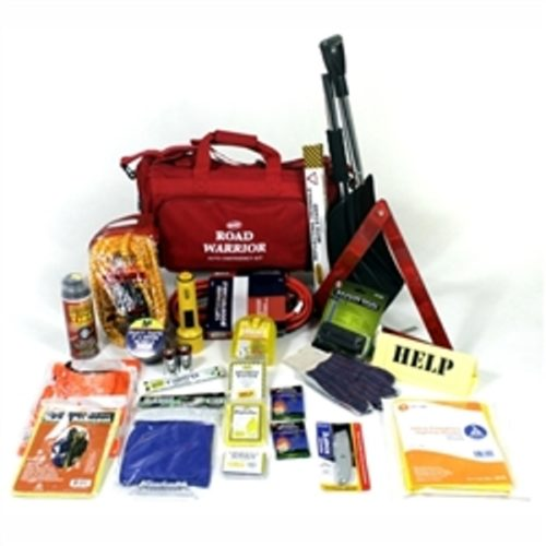 MAA10-STD Winter Survival Kit, Sunset Survival Road Warrior Kits, Vehicle Safety Kit, Roadside Safety