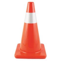 MAA56 Orange Traffic Cone from Sunset Survival and First Aid, Emergency Kits, Disaster Preparedness, Survival Supplies