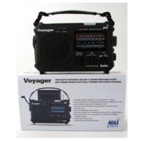 MC-79-500 - Voyager Solar NOAA Weather Radio, Emergency Preparedness Battery-Free Crank Radio from Sunset Survival Kits, Disaster Kit Supplies