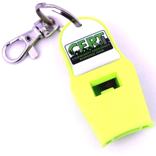 MC-88-CRT CERT Responder Whistle from Sunset Survival and First Aid, CERT Supplies, Emergency Kits, School Safety, Survival Equipment, Disaster Preparedness