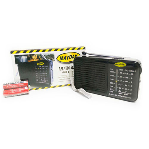 MC44ST-NU Portable AM-FM Radio from Sunset Survival & First Aid Kits, Emergency Supplies, Disaster Preparedness