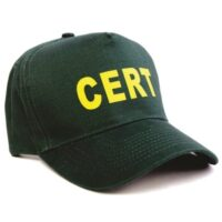 MCRT-HAT CERT Cap, C.E.R.T. Emergency Responder Kits, Reflective Vests