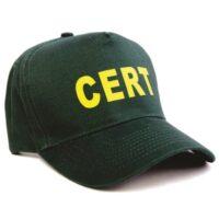 MCRT-HAT CERT Cap, C.E.R.T. Emergency Responder Kits, Reflective Vests