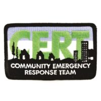 MCRT-PATCH CERT patch, full-color embroidered, from Sunset Survival and First Aid Kits, Emergency Supplies, Disaster Preparedness