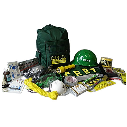 MCRT2 C.E.R.T. Action Response Backpack Kit from Sunset Survival and First Aid, CERT Responder Supplies, Emergency Kits, Survival Supplies, Disaster Preparedness