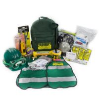 MCRT2 CERT Backpack Kit, Emergency Backpack Kits, Safety Vest