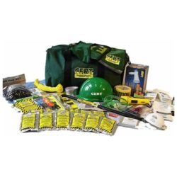 MCRT3 C.E.R.T. Deluxe Action Responder Kit in CERT Gear Bag from Sunset Survival and First Aid, CERT Responder Supplies, Emergency Kits, Survival Supplies, Disaster Preparedness