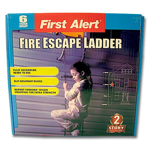 MEE36 2-Story Fire Escape Ladder from Sunset Survival and First Aid, Fire Safety Equipment, Emergency Kits, Disaster Preparedness
