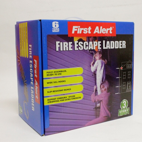 MEE36A 3-Story Fire Escape Ladder from Sunset Survival and First Aid, Fire Safety Equipment, Emergency Kits, Disaster Preparedness