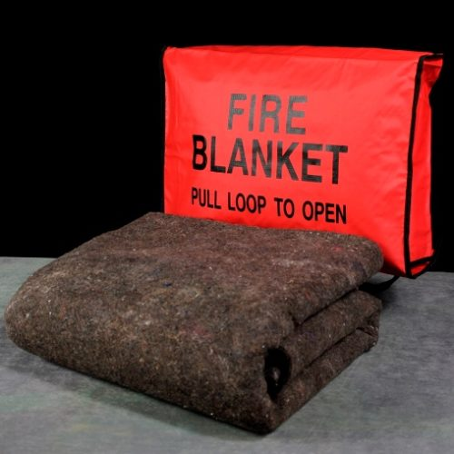 MEE37C Fire Blanket with Case, Survival Supplies, Fire Safety, Emergency Supplies, Safety Kits, Disaster Preparedness, Fire Survival Equipment