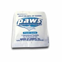 Hand Sanitizer Wipes, Alcohol based, Antimicrobial, indiv wrapped