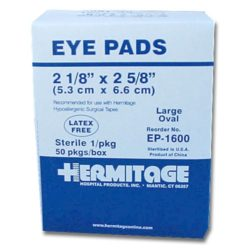 MFA-22 Eye Pads from Sunset Survival and First Aid Kits, Emergency Supplies, Disaster Preparedness