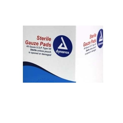 MFA-24S Sterile Gauze Pads 4x4, from Sunset Survival and First Aid Kits, Emergency Responder Kits, Disaster Preparedness, School Safety