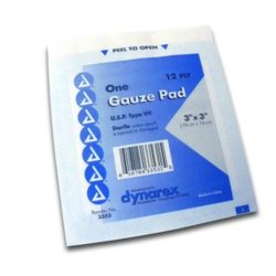 MFA-24SR 3x3 Gauze Pads from Sunset Survival and First Aid, Emergency Supplies, First Aid Kits, Disaster Preparedness