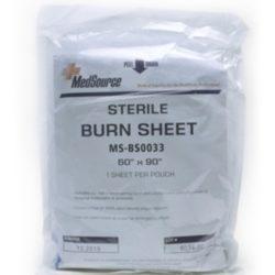 MFA-26SH Sterile Burn Sheet, from Sunset Survival and First Aid Kits, responder kits, disaster preparedness, emergency kits, burn trauma kits