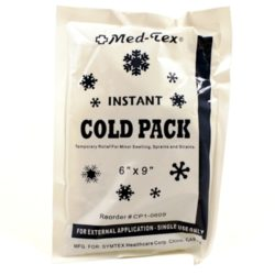 MFA-27FP Instant Ice Pack, Large, from Sunset Survival and First Aid Kits, Emergency Supplies, Disaster Preparedness