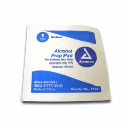 MFA-35FP Alcohol Prep Pads, from Sunset Survival and First Aid, responder kits, disaster preparedness, school safety, first aid supplies
