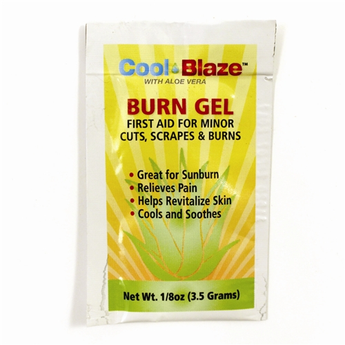 MFA-38B Burn Gel First Aid Packet from Sunset Survival and First Aid, emergency kits, first aid kits, disaster preparedness supplies