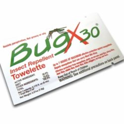 MFA-OD1-5 Insect Repellent Towelette Wipe for Camping, Scouting, Emergency Kit, from Sunset Survival, First Aid Kits