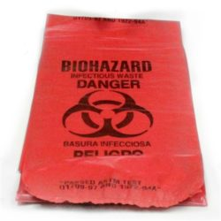 MFA-ST1 Biohazard Infectious Waste Disposal Bag from Sunset Survival and First Aid, emergency kits, disaster preparedness and response, first aid kits