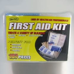 MFA-TK107 107-piece Emergency First Aid Kit from Sunset Survival, Emergency Kits, Disaster Preparedness, School Safety