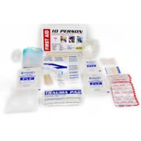 MFA-TK10PB First Aid Kits, 10 person Emergency First Aid Trauma Kit