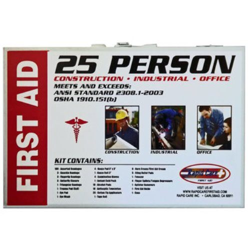 25-Person OSHA First Aid Kit from Sunset Survival and First Aid, Emergency Kits, Survival Supplies, Disaster Preparedness, Trauma Kits
