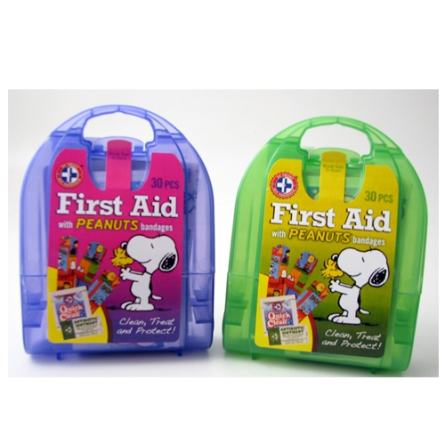 MFA-TK3-PNUT Peanuts First Aid Kit for Kids, from Sunset Survival and First Aid, emergency kits, first aid supplies, school safety kits, emergency preparedness
