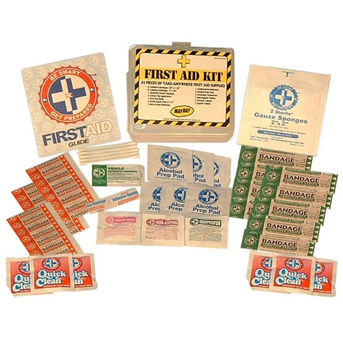 MFA-TK3A 54-piece First Aid Kit, from Sunset Survival and First Aid, emergency kits, first aid supplies, classroom safety, disaster preparedness