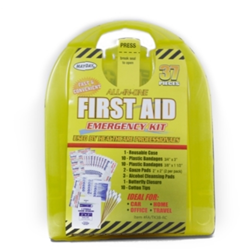 MFA-TK3B-RC 37-piece First Aid Kit, from Sunset Survival and First Aid, emergency kits, first aid supplies, classroom safety, disaster preparedness