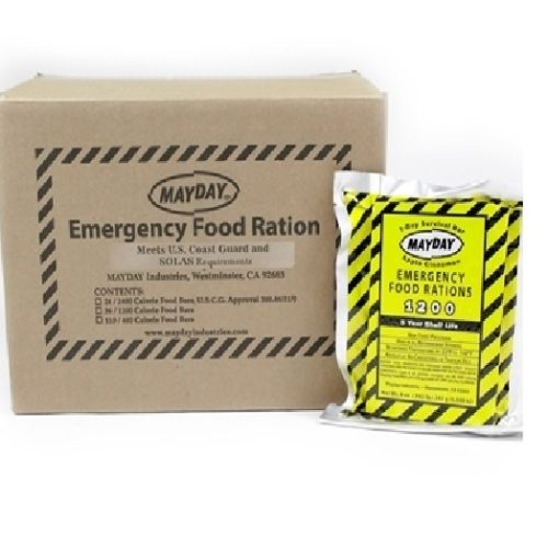 MFB12MC Case of 1200-calorie Emergency Food Rations from Sunset Survival and First Aid, Emergency Kits, Survival Supplies, Disaster Preparedness