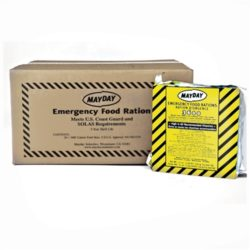 MFB36MC Case of 3600-cal Emergency Survival Food Bars, 5-year shelf-life, Emergency Kits, Survival Supplies, Disaster Preparedness