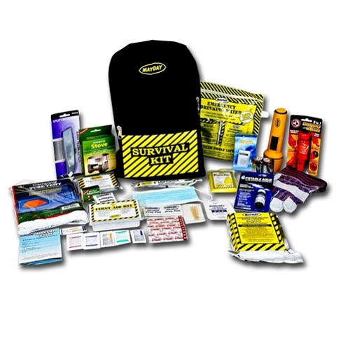 MKEX1 Deluxe Emergency Kit Backpack from Sunset Survival Kits, emergency kit food and water, survival backpacks