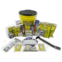 MKEX2P Deluxe Emergency Survival Bucket Kit with Emergency Toilet, from Sunset Survival and First Aid, Emergency Kits, Survival Supplies, Earthquake Kits, Disaster Preparedness