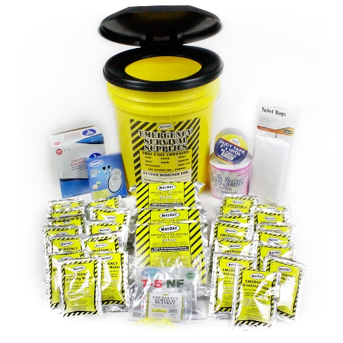 MKKLD School Kits, Classroom Lockdown Bucket Kit, School Safety Earthquake Emergency Kits