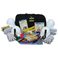 MKSR4 4-Person Deluxe Search and Rescue Kit from Sunset Survival and First Aid, Emergency Supplies, First Responder Gear, Disaster Preparedness