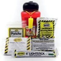 MKT-BB1 Bottle Buddy Personal Emergency Survival Kit, Emergency Kits, Earthquake Disaster Safety
