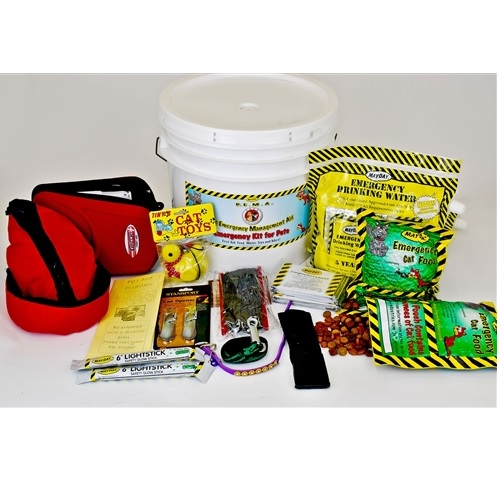 MKT-CT1 Pet Survival Kit for Cats from Sunset Survival and First Aid, Pet Safety Kits, Emergency Supplies, Disaster Preparedness