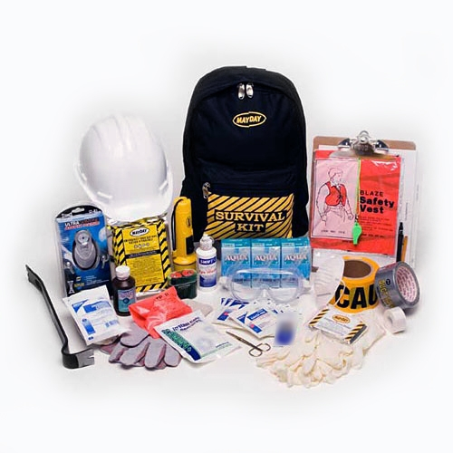 MKT1 Classroom Emergency Backpack Kit from Sunset Survival and First Aid, School Safety, Classroom Lockdown Kits, Emergency Supplies, Disaster Preparedness