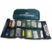 MKT60D The Outdoorsman Survival First Aid Kit in Medical Sleeve from Sunset Survival and First Aid, emergency kits, first aid supplies, disaster preparedness