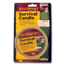 ML22A Survival Candle from Sunset Survival and First Aid Kits, Emergency Supplies, Disaster Preparedness
