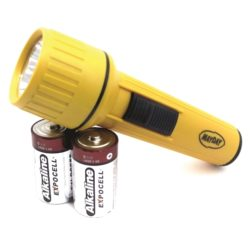 ML77 Emergency Flashlight with Batteries from Sunset Survival and First Aid, Emergency Preparedness Kits, Survival Supplies