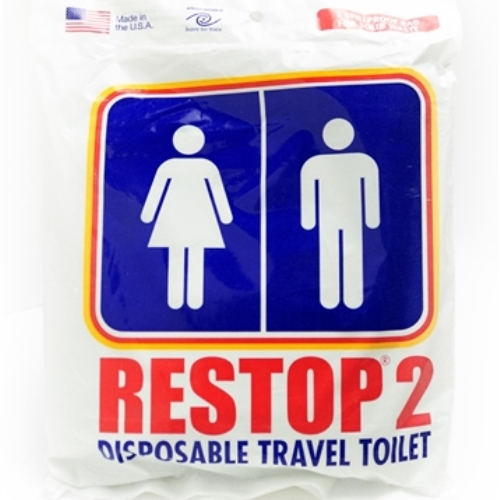 MPP00-RS RESTOP 2 Emergency Toilet Kit from Sunset Survival and First Aid, Emergency Kits, Classroom Lockdown, Disaster Preparedness