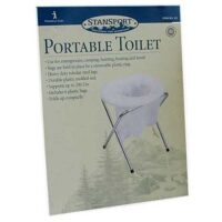MPP11 Portable Folding Toilet from Sunset Survival and First Aid, Emergency Kits, Disaster Preparedness, Earthquake Survival