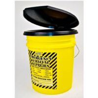 MPP33 Honey Bucket Portapottie Emergency Toilet Kits, Sunset Survival, Emergency Kits, Classroom Lockdown, Disaster Kits
